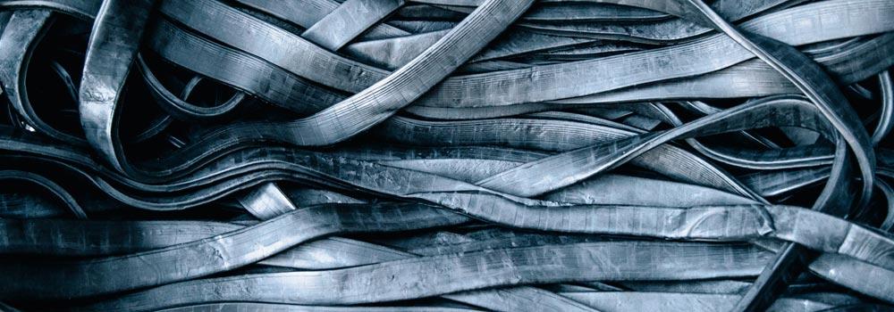 Image montrant des bandes de caoutchouc produit par Jeantet Élastomères